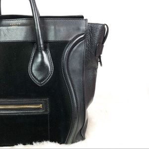 Celine Bags - Celine Luggage Mini Shopper